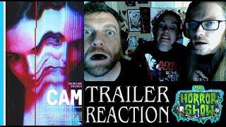 """CAM"" 2018 Netflix Horror Movie Trailer Reaction - The Horror Show"