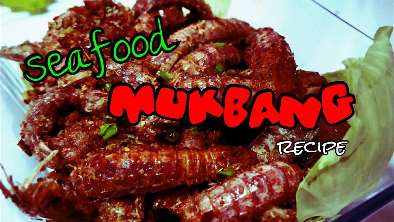 Download SEAFOOD MUKBANG RECIPE (Mantis Prawn/Alupihang Dagat)