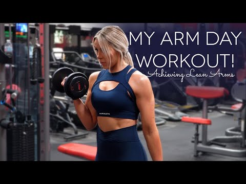 My ARM DAY workout!! Pump was CRAZY after this!