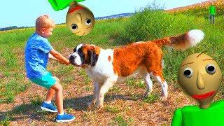 Даня ПОТЕРЯЛ Гаю  BALDI В реальной жизни ЗАБРАЛ собаку!