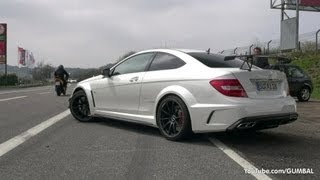 Mercedes-Benz C63 AMG Black Series - Lovely Sounds!