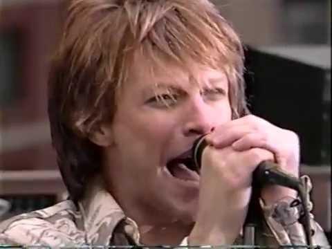Bon Jovi - It's My Life (Late Night Show 2000)