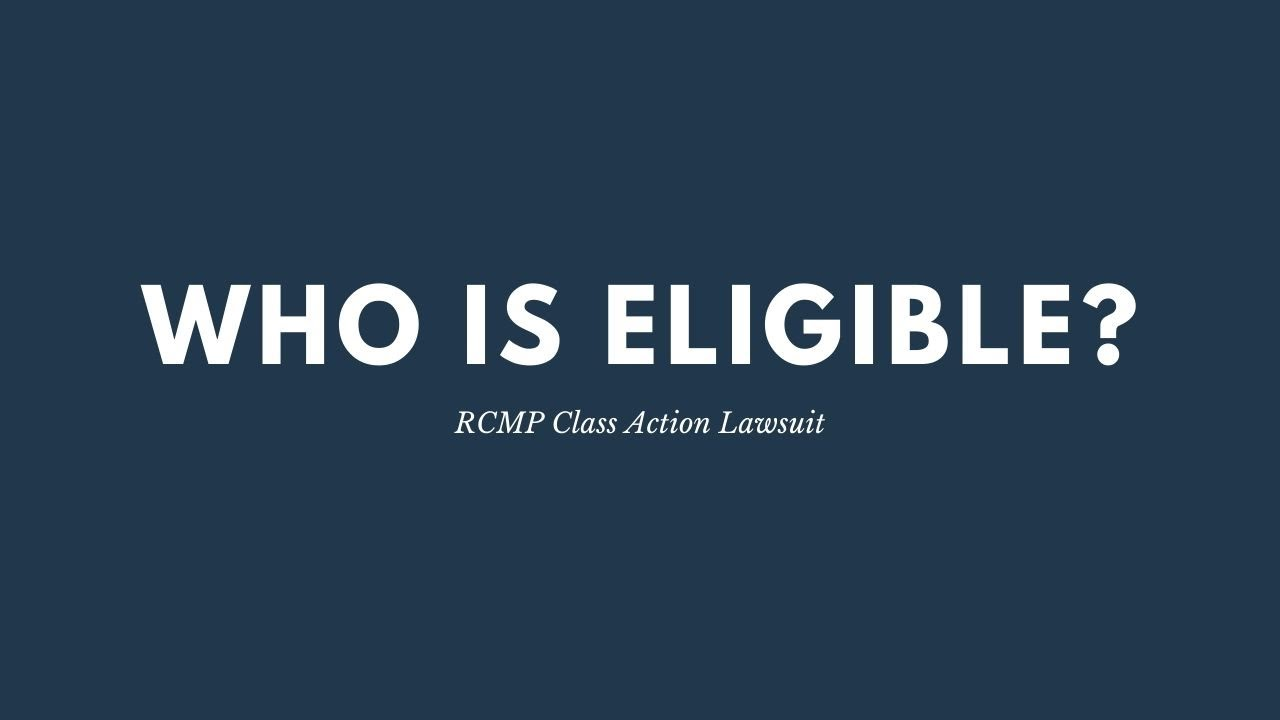 RCMP Class Action Lawsuit | Who is Eligible – Higgerty Law