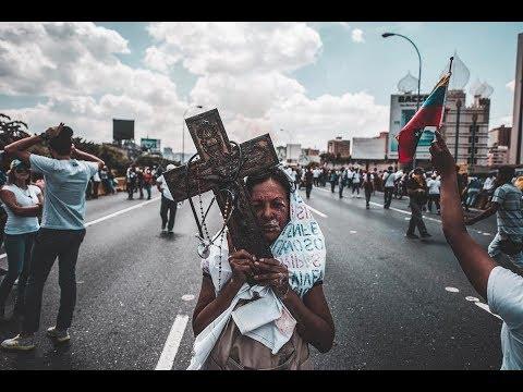 Desgarradoras palabras de una venezolana en protesta 2017