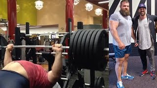 TIPS FROM 738LB BENCH RECORD HOLDER KIRILL SARYCHEV