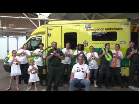 Paramedic Graham sings Buddy Holly