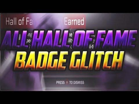 NBA 2K18 Instant Hall of Fame Badges Glitch! Unlock All Badges Instantly Tutorial!