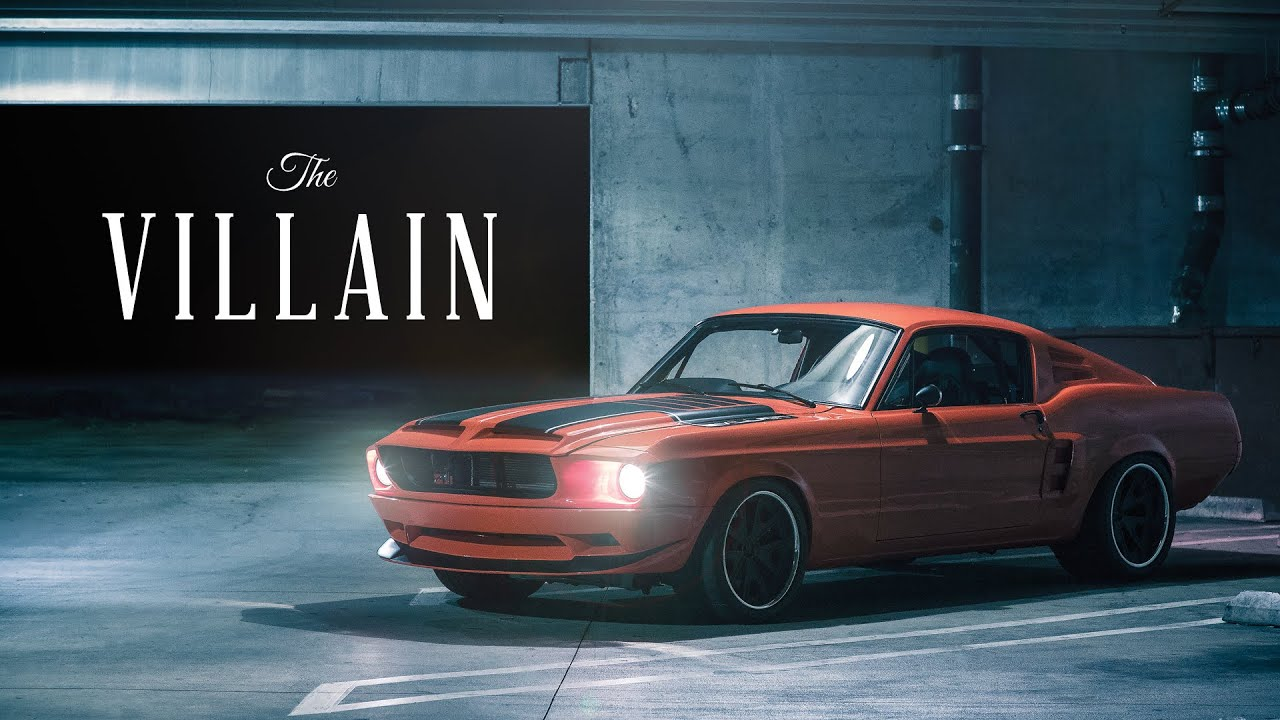 The Villain 1968 Ford Mustang Classic Recreations
