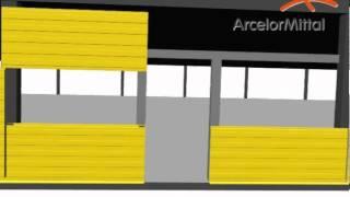 ArcelorMittal - сборка сендвич-панелей(ArcelorMittal - сборка сендвич-панелей., 2013-01-28T17:32:54.000Z)