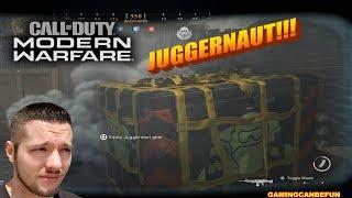 JUGGERNAUT FTW! WITH COMMENTARY | CALL OF DUTY MODERN WARFARE (4K INSANE QUALITY)