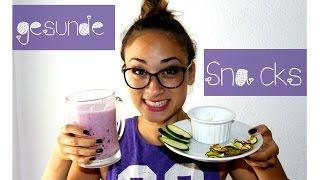 Gesunde Snack Ideen für Abends - Low Fat & Low Carb Food Rezepte - Figurbewusst naschen - Heißhunger