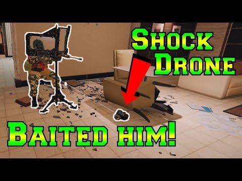 Tachanka BAITED by Twitch Drone - Rainbow Six Siege
