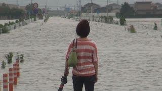堤防決壊、全域に避難指示 福岡・柳川、九州北部の豪雨
