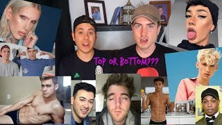The Gay Tops and Bottoms of Youtube.. (tea)
