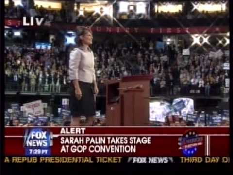 Republican National Convention Sarah Palin Speech