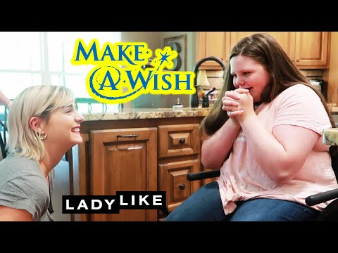 We Surprise Morgan With A Make-A-Wish Reveal: Part 1  Ladylike