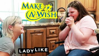 We Surprise Morgan With A Make-A-Wish Reveal: Part 1 • Ladylike