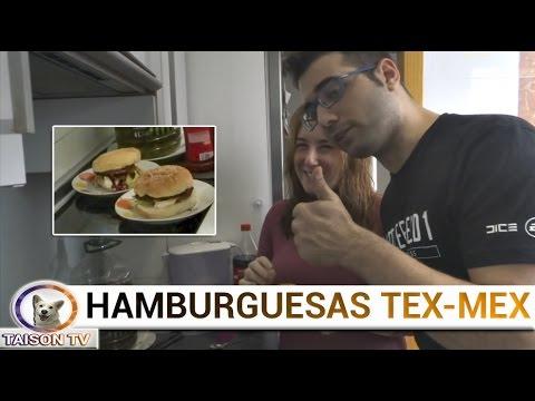 Hamburguesas Tex-Mex La receta Gamer del Mes. Dificultad 0