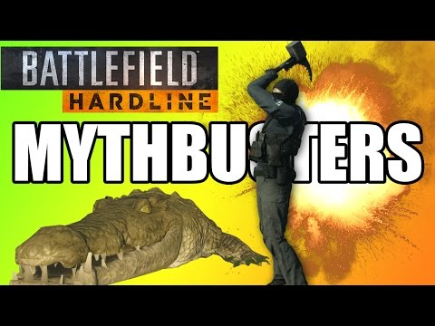 MYTHBUSTERS - Gators, Couches, and Donuts | Battlefield Hardline