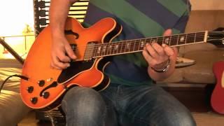 (my personal) 1969 Gibson ES-335 ice tea sunburst Part1
