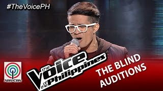 "The Voice of the Philippines Blind Audition ""All of Me"" by Karl Tanhueco (Season 2)"