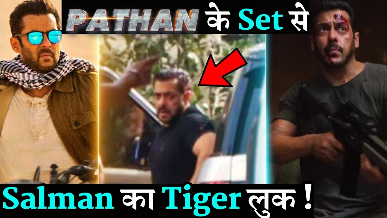 Download Salman Khan Pathan Look Viral On Set