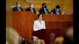 Ayuso anuncia la bajada del IRPF a todos los madrileños