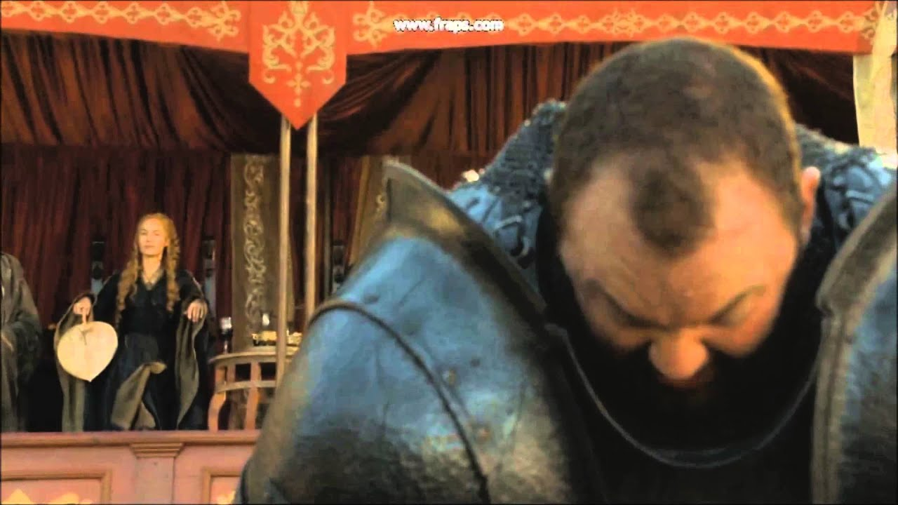 the mountain crushes prince oberyn 39 s head youtube. Black Bedroom Furniture Sets. Home Design Ideas
