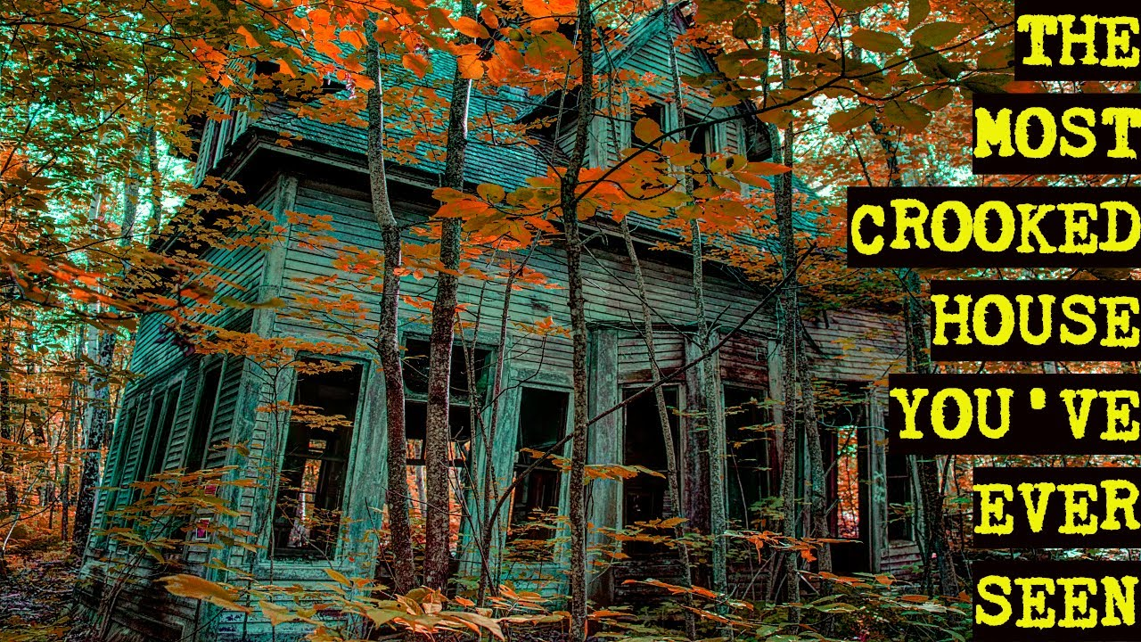 Most Crooked Abandoned House You've Ever Seen | Abandoned Places of New England's White Mountains