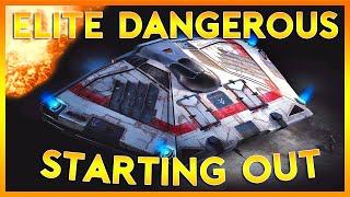 Elite Dangerous Horizons | Starting Out | Part 1 (Elite Dangerous 2016 PC Gameplay)