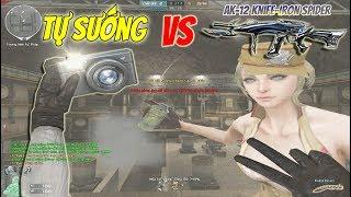 Bình Luận CF : Nhân vật VIP Nữ thần Athena + AK-12 Knife-Iron Spider (VIP)