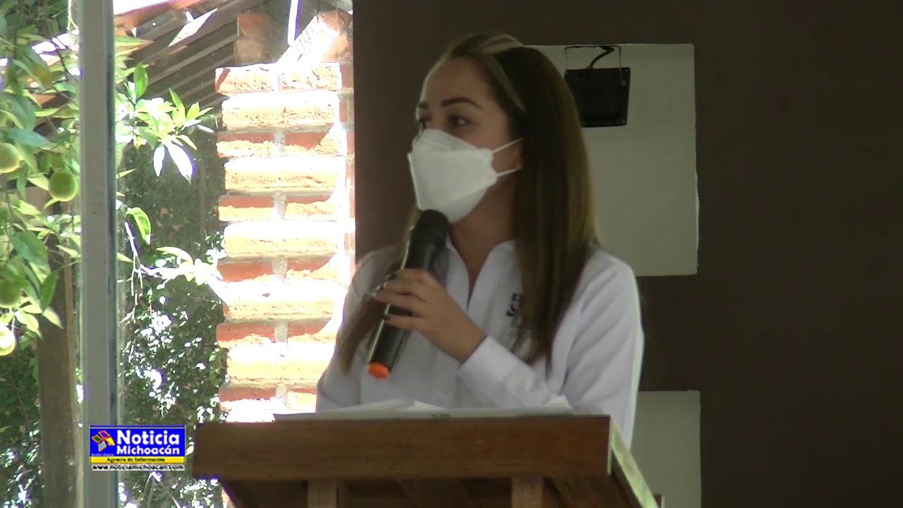 Claudia Griselle Sanhua reitera su apoyo y compromiso por proteger la salud de los zacapenses