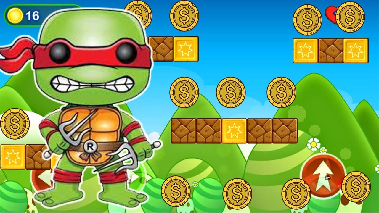 Tortugas Ninjas - Juegos Para Niños - Turtle Legand