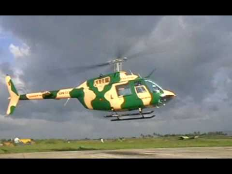 Sri Lanka Air Force - Training Mission - Bell-206