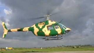 Sri Lanka Air Force - Training Mission - Bell-206