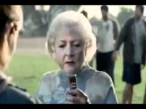 Betty White Snickers Commercial Youtube