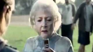 betty white snickers commercial
