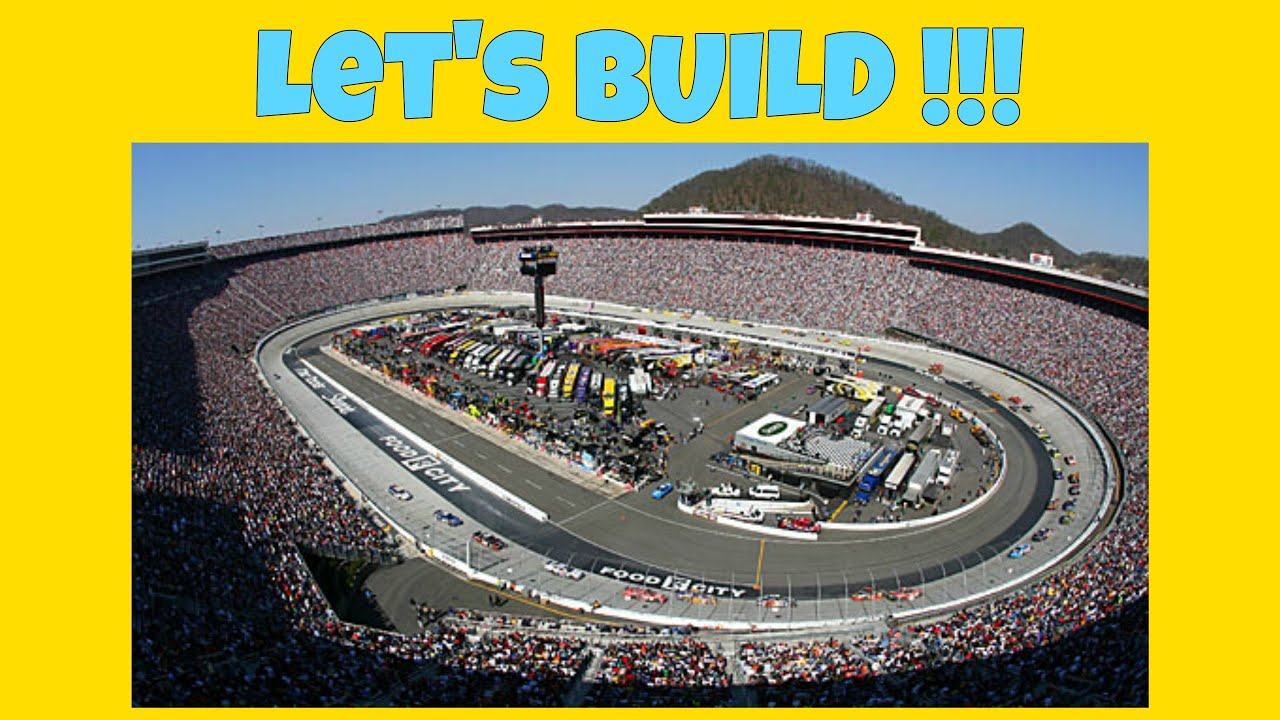 minecraft starting our biggest ever build nascar race. Black Bedroom Furniture Sets. Home Design Ideas