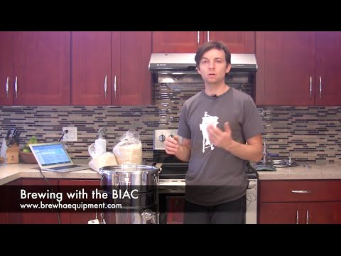 Brewing All Grain Beer With The BREWHA BIAC