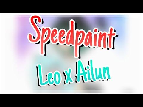 .•°Speedpaint°•.♡{Leo X Ailun}♡