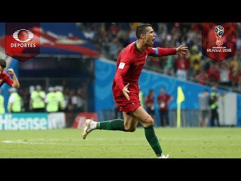 Resumen   Portugal 3 - 3 España   Mundial Rusia 2018
