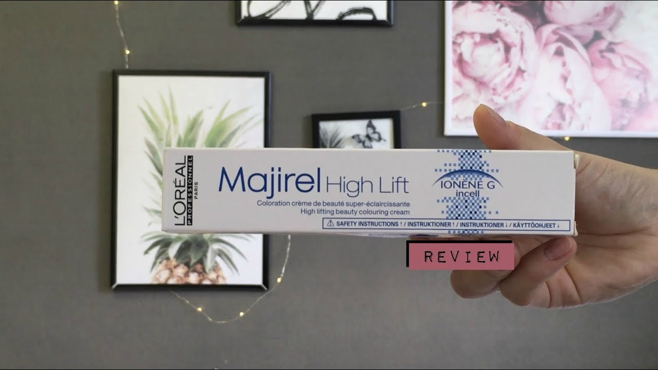L Oreal Majirel High Lift Review Does Art Work High Lifting Beauty Colouring Cream Hl Ash Youtube