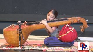 Part-28 Amrita Playing Veena At Talent Show Sponsored By Mallige Kannada Sangha Of North Texas 2014