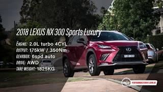 2018 Lexus NX 300 0-100km/h & engine sound [short edit]