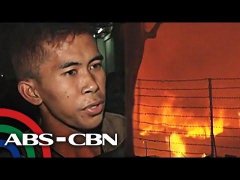 4 bumbero inatake ng mga residente sa sunog sa Malabon