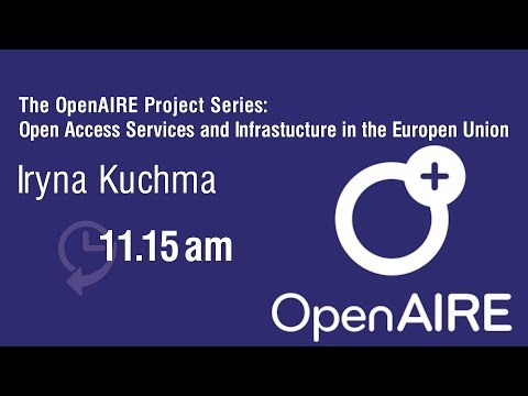 The OpenAIRE project series: Open Access services and infrastructure in the European Union