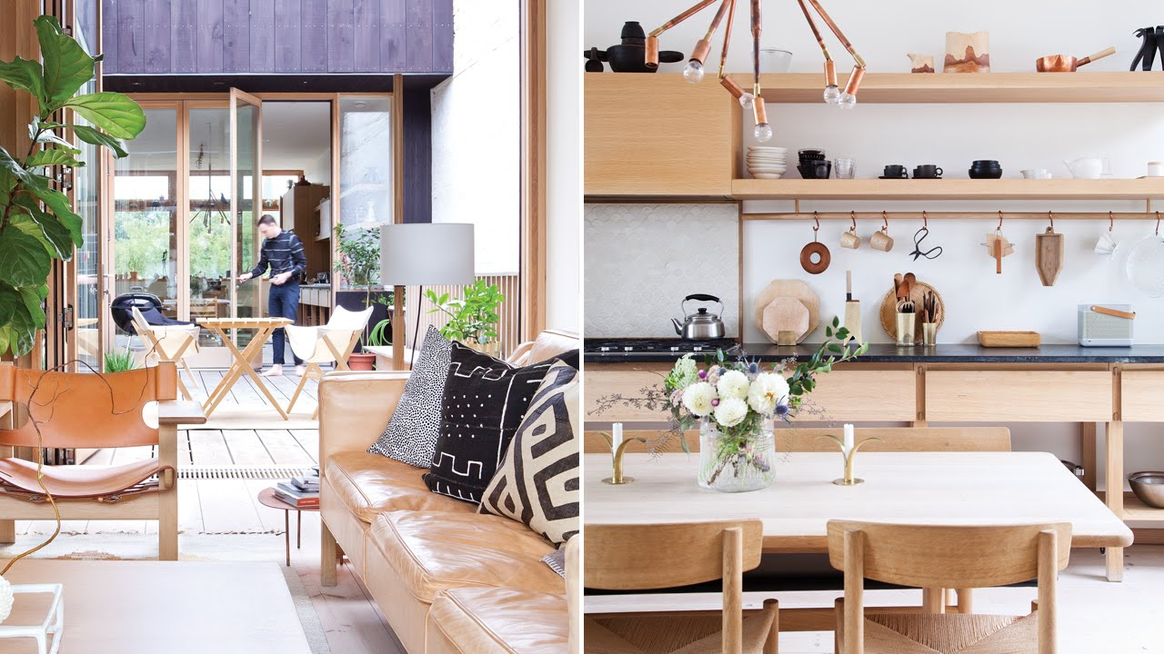 Interior design inside a bright scandi style family home for Bright house design