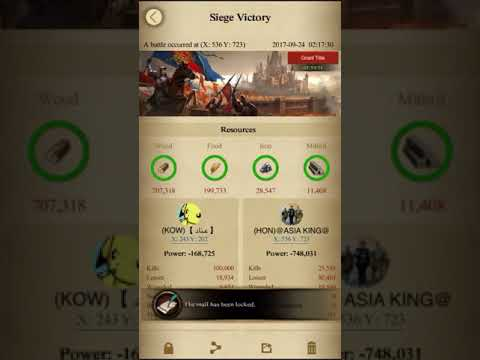 【 kingdom Conquest against K140 , rally on 557m power 】