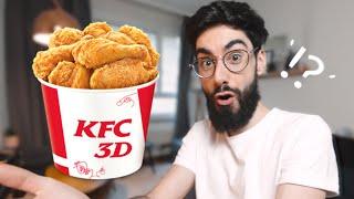 KFC se lance dans l'IMPRESSION 3D, une drôle de BROSSE à imprimer ! (Actu 3D #EP2)