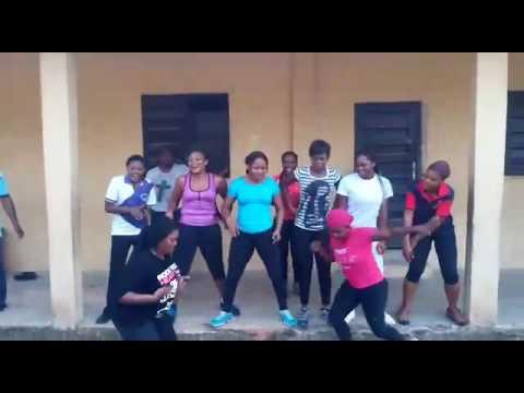 African dance steps aerobics(1)